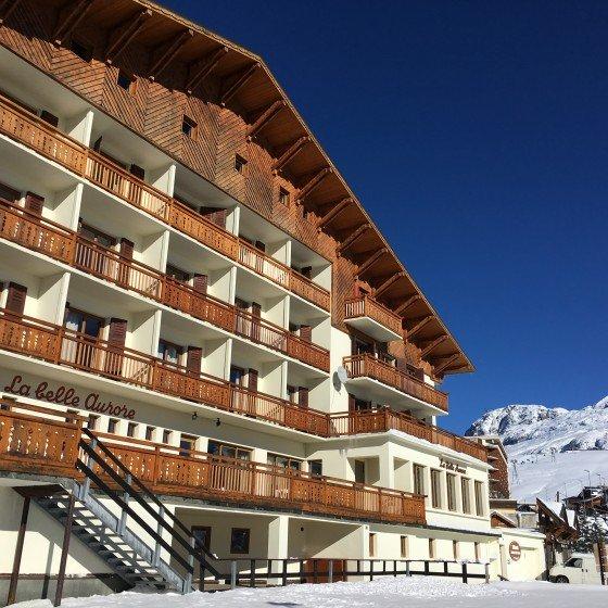La Belle Aurore is open for business   Ski Season 2015/16