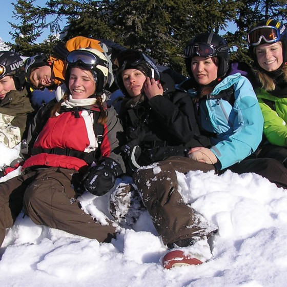Students in Saalbach