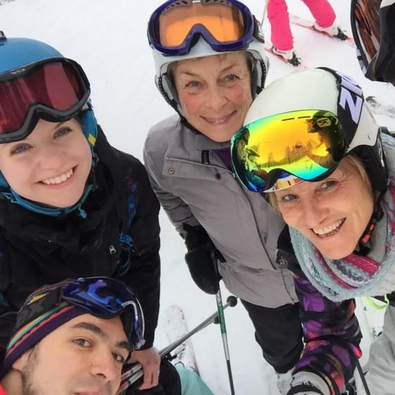 SkiBound representatives in Italy