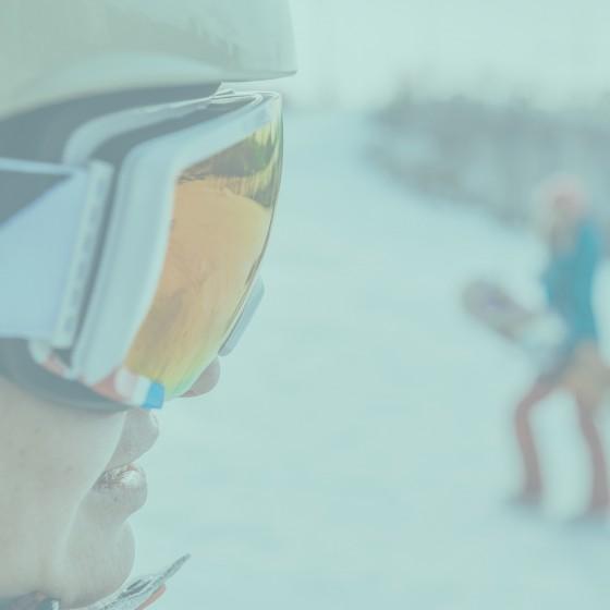 Female snowboarders