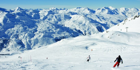 Slopes of Les Menuires | Three Valleys | France