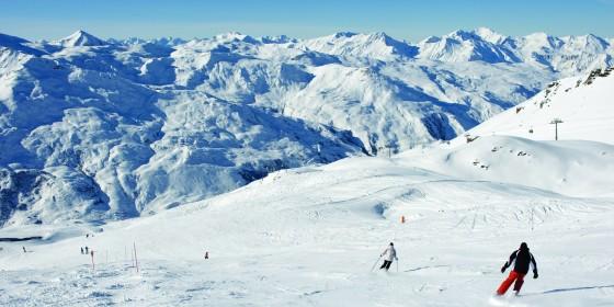 Slopes of Les Menuires | Three Valleys | France
