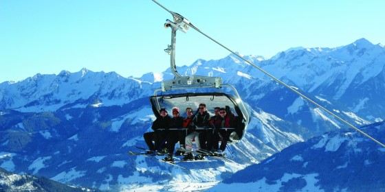 School ski trips to the Zell am See ski area | Austria