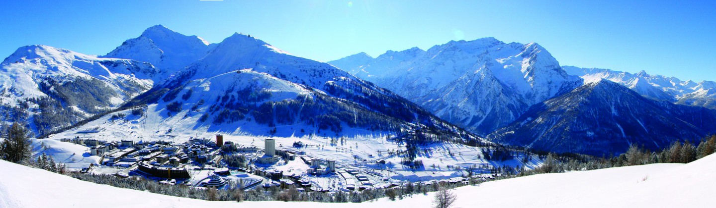 Sestriere panoramic