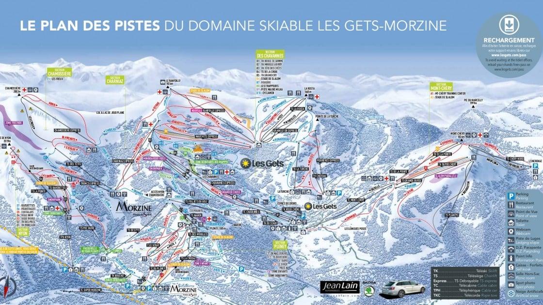 Morzine Piste Map 2019