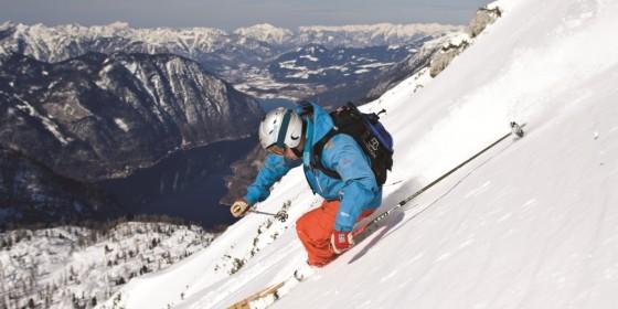 Skier on the Dachstein mountains | Dachstein West | Austria