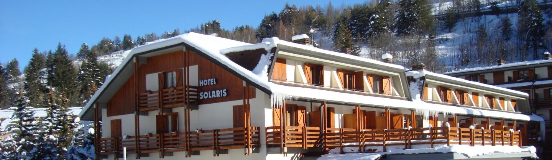 Hotel Solaris exterior | Cesana | Italy
