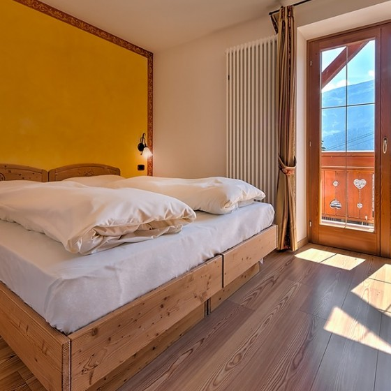 Active Hotel Garni dal Bracconiere bedroom twin, Folgarida