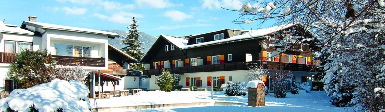 Jugendhotel Egger rear exterior   Villach   Gerlitzen   Austria