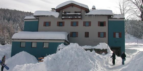 Martinella inverno, Folgaria