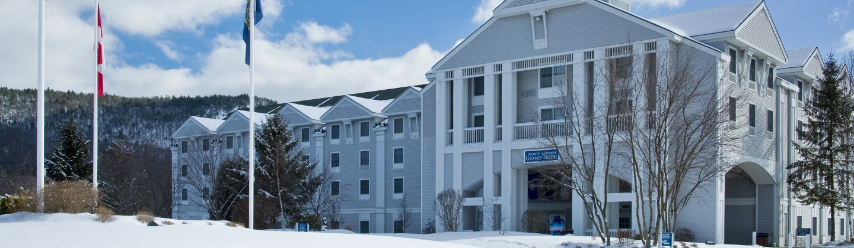 North Conway Grand Hotel Winter Exterior