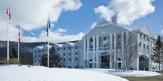 North Conway Grand Hotel Winter Exterior