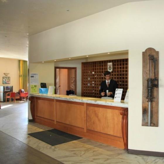 Hotel Duchi d'Aosta reception
