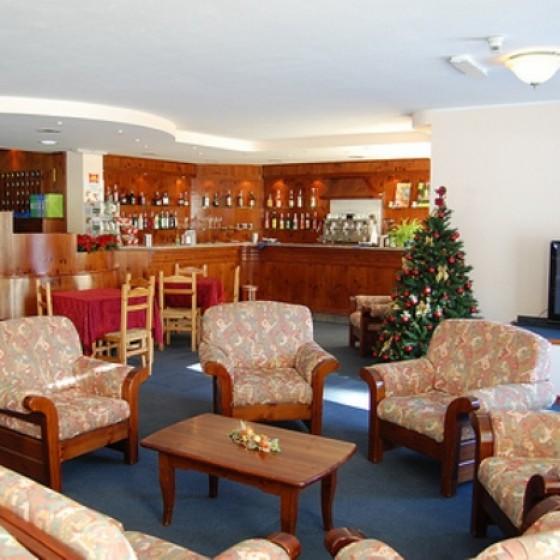 Hotel Solaris lounge area   Cesana   Italy