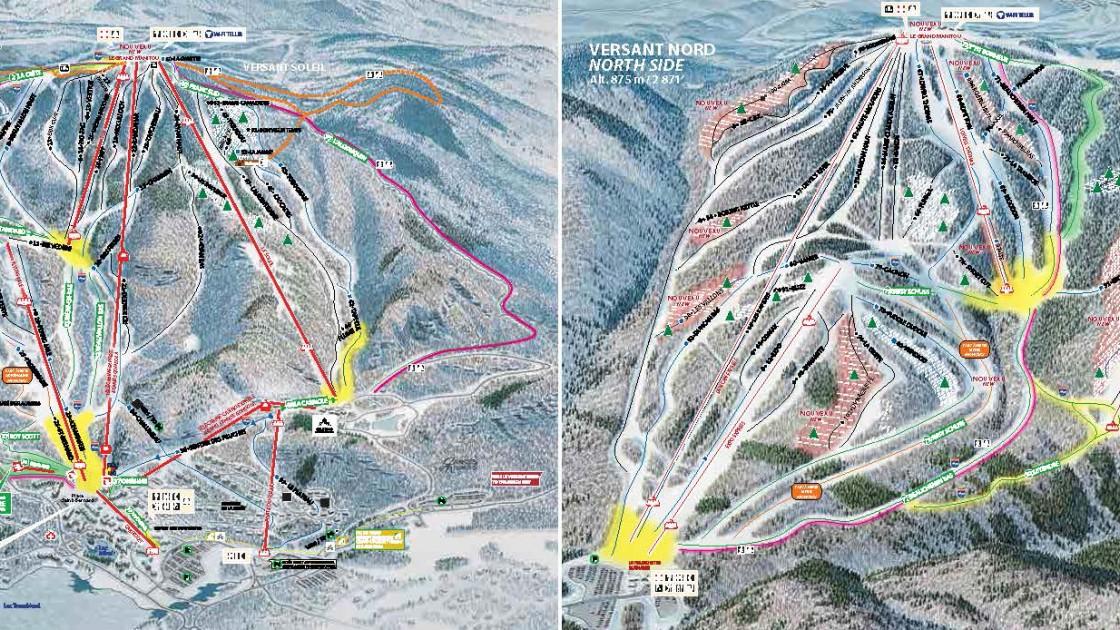 Tremblant Trail Map