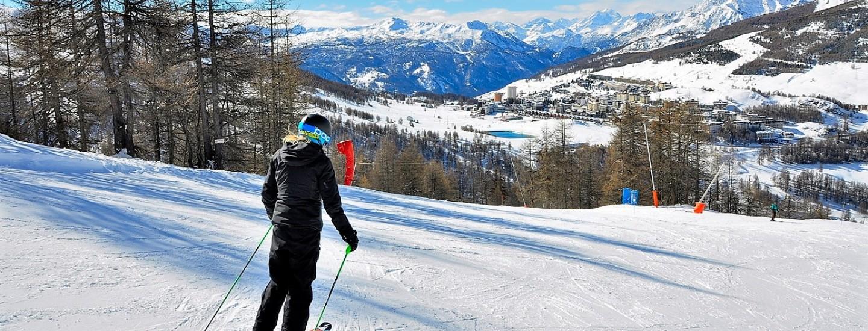 School Skiing in Italy