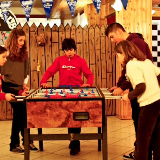 Hotel Solaris recreation room | Cesana | Italy