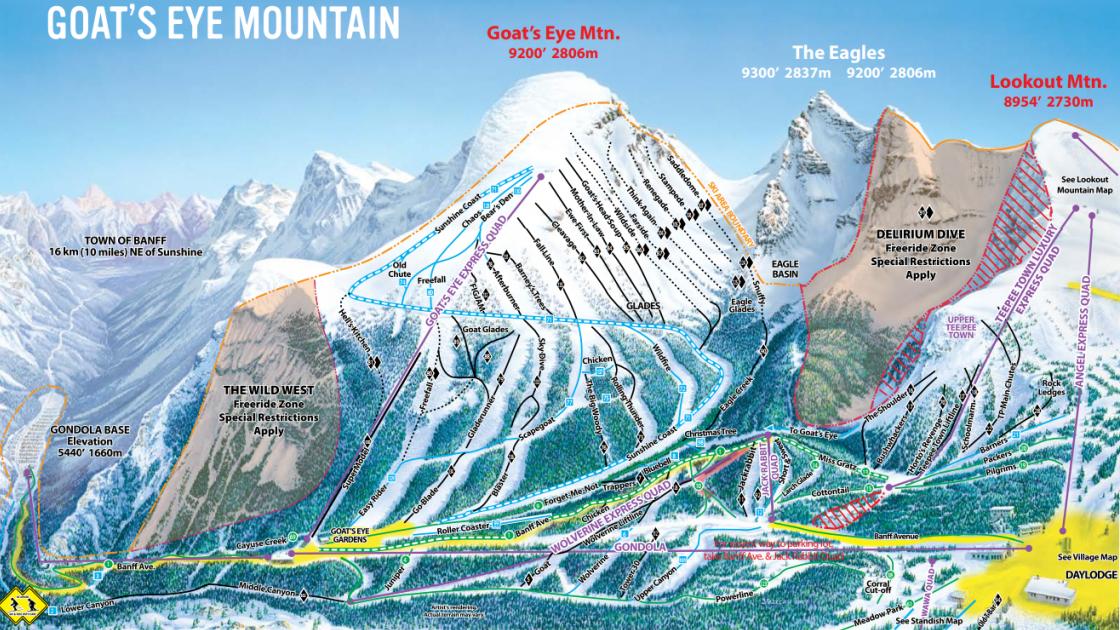 Banff | Goat's Eye Mountain