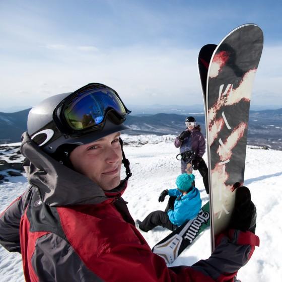 Back on the slopes!