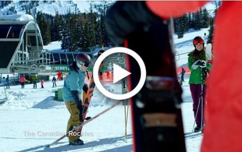 Ski Big 3 video on Banff