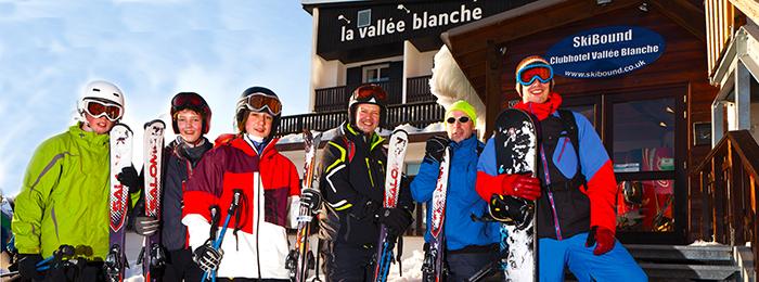 Ski group at the VB