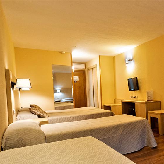 Hotel Panorama Bedroom
