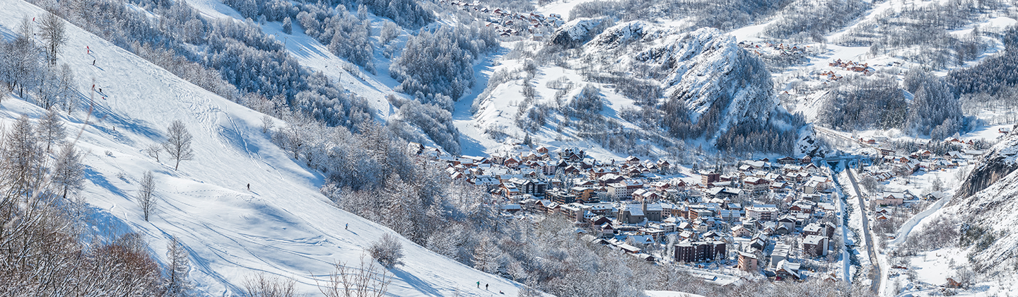 View of Valloire